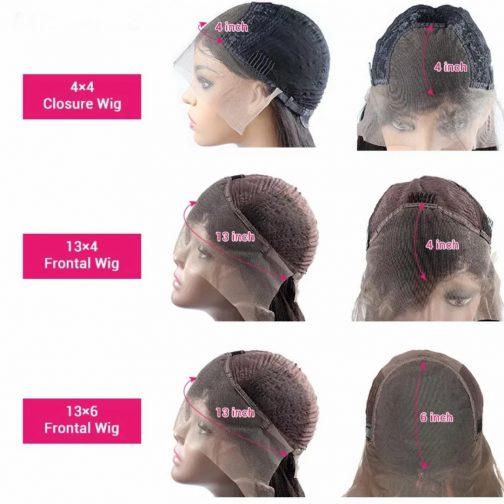 13x4 vs 13x6 vs 4x4 lace wig