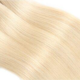 3 bundles – 613# blonde virgin human hair weave bundles-body wave & straight