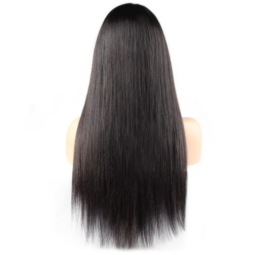 straight hair lace wig