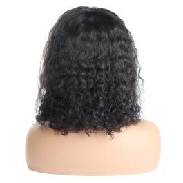 Curly wig-short curly wig-virgin human hair 13×4 lace Bob wig