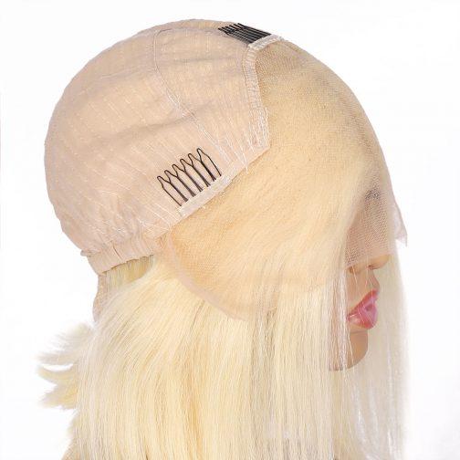 613# Bob half lace wig
