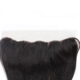 Straight virgin human hair 13×4 lace frontal