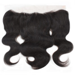 Body wave virgin human hair 13×4 lace frontal