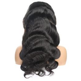 Body wave wig-100% virgin human hair glueless lace wig