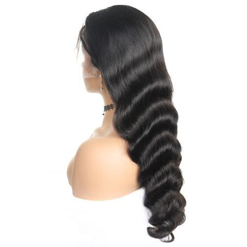 loose wave human hair lace wig
