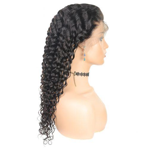deep wave lace wig