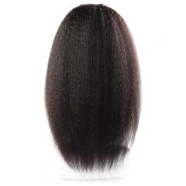 Yaki 100% virgin human hair lace wig