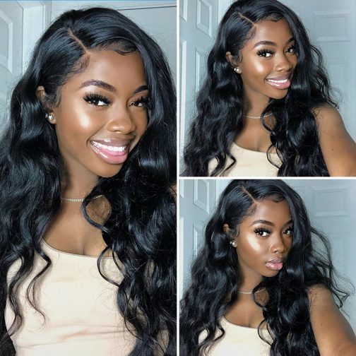 body wave virgin hair lace wig